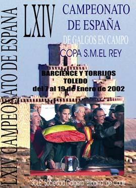 LXIV ESPAÃ'A  TOLEDO 2002